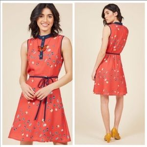 modcloth| unique bug dress •XL